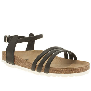Womens Schuh Black Water Park Sandals