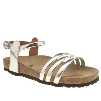Womens Schuh Silver Water Park Sandals
