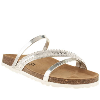 womens schuh silver breeze sandals