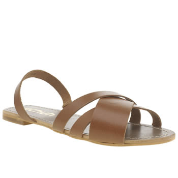 Womens Schuh Tan Dreamer Sandals