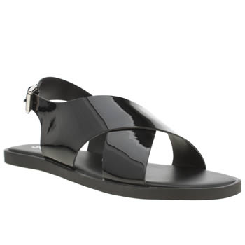 Womens Schuh Black Fast Track Sandals