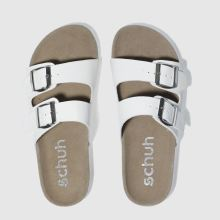 Schuh White Hawaii Womens Sandals