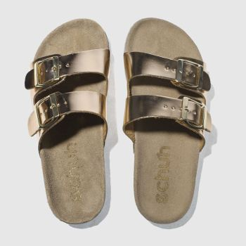 Schuh Bronze Hawaii Sandals