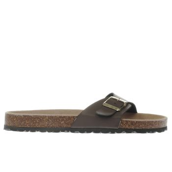 Schuh Brown Cornwall Womens Sandals