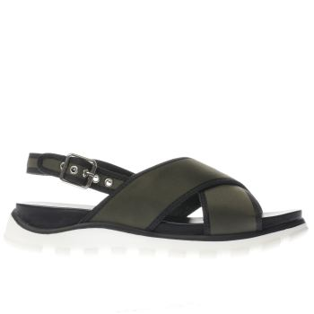 Schuh Khaki Sunscreen Womens Sandals