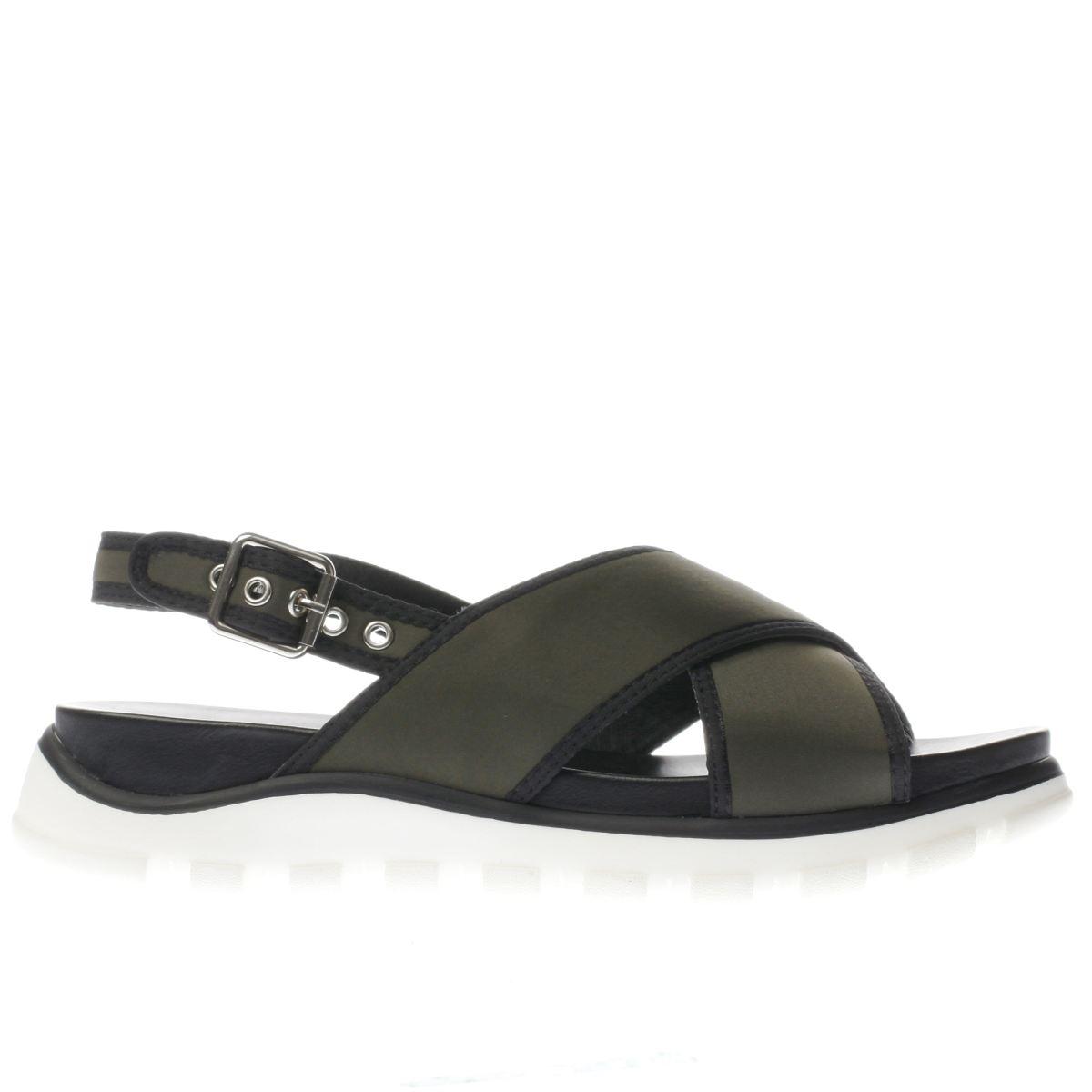 schuh khaki sunscreen sandals