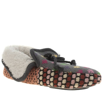 Womens Schuh Multi Jungle Slippers