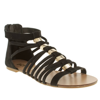 Womens Schuh Black Frisbee Sandals