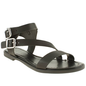 Womens Schuh Black Vacation Sandals