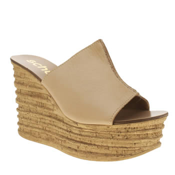 Womens Schuh Natural Fauna Sandals