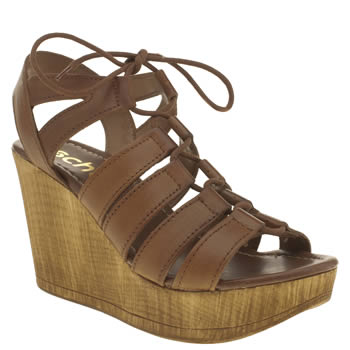 Womens Schuh Tan Horizon Sandals