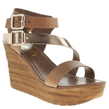 Schuh Tan Sundown Sandals