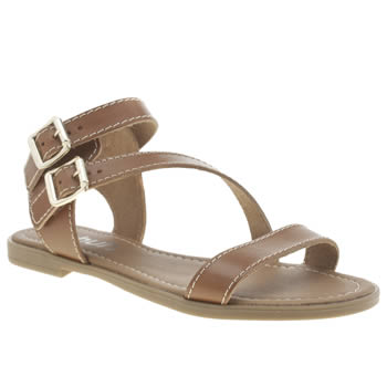 Schuh Tan Vacation Sandals