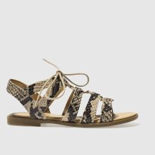 Schuh Natural Grand Slam Womens Sandals