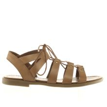 Schuh Tan Grand Slam Womens Sandals