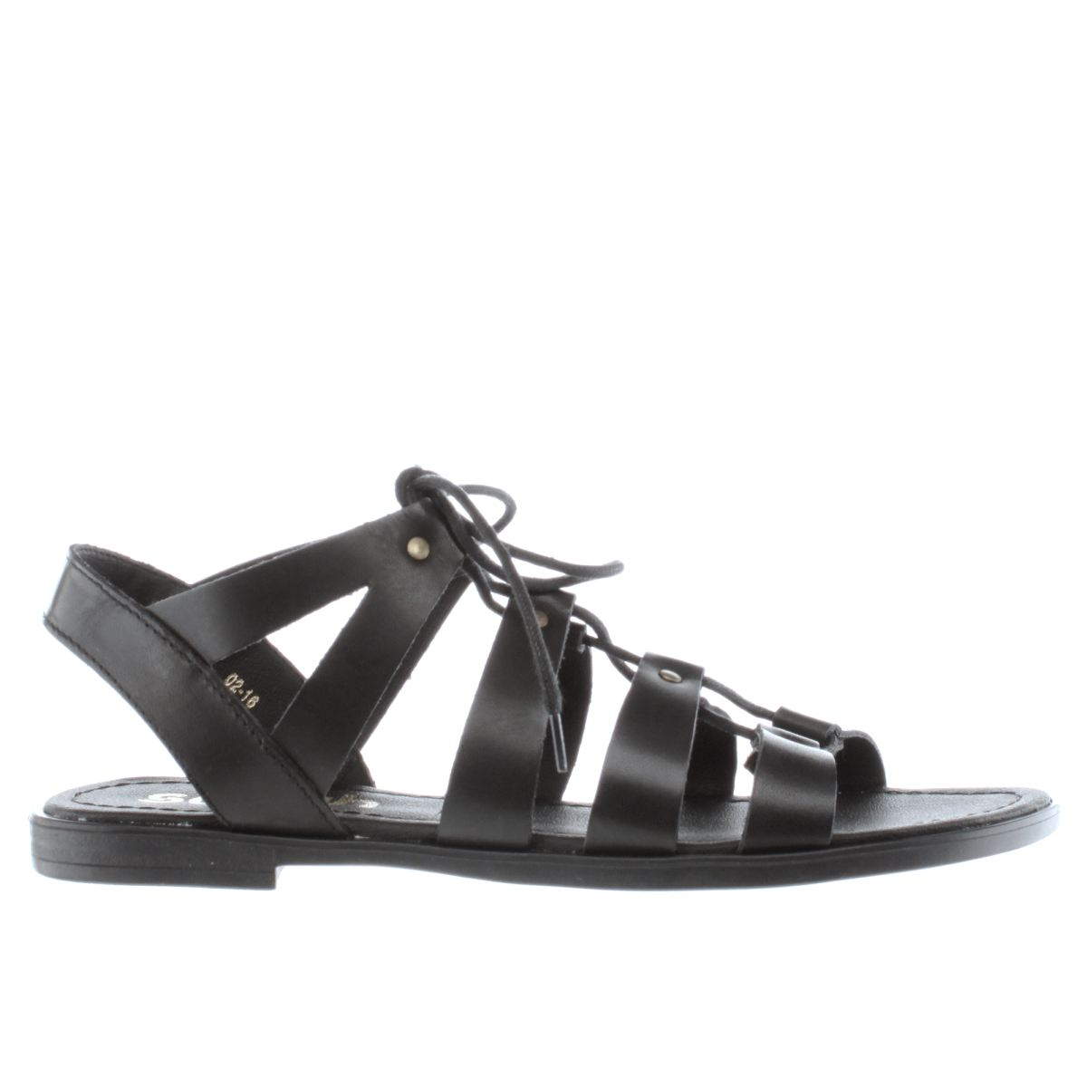 schuh black grand slam sandals