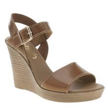 Schuh Tan Flora Sandals