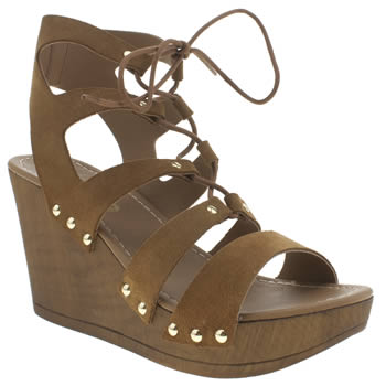 Schuh Tan Skyline Womens Sandals