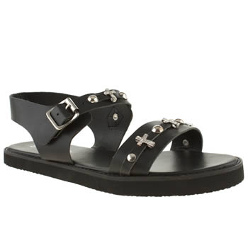Womens Schuh Black Mystical Sandals