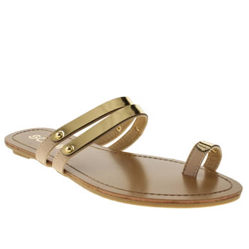 Womens Schuh Natural Tektonic Sandals