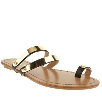 Womens Schuh Black Tektonic Sandals