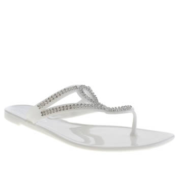 Schuh White Sunrise Sandals