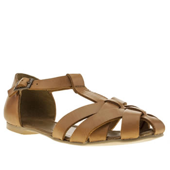 Womens Schuh Tan Sugar Sugar Sandals
