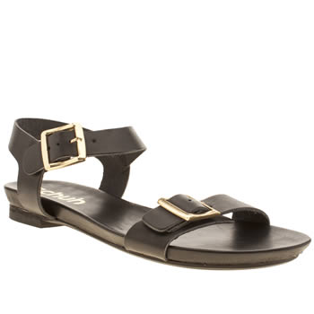 Schuh Black Strawberry Sundae Sandals