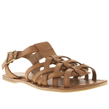Schuh Tan Staycation Sandals