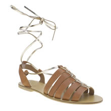 Schuh Tan Atomic Womens Sandals