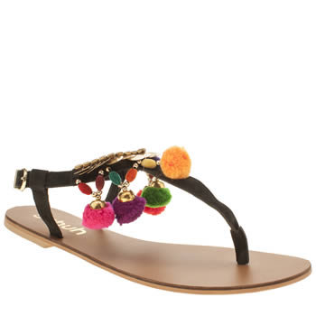 Womens Schuh Black Jackpot Sandals