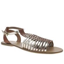 Schuh Gold Scoop Sandals