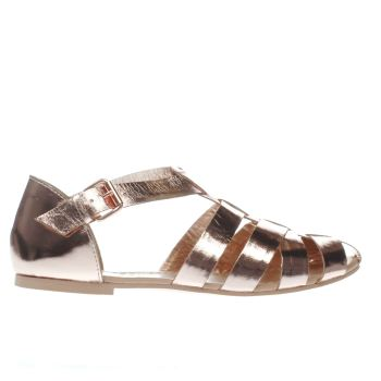 Schuh Bronze Sugar Lump Womens Sandals