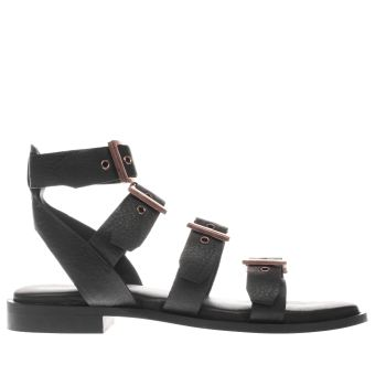 Schuh Black Vegas Womens Sandals
