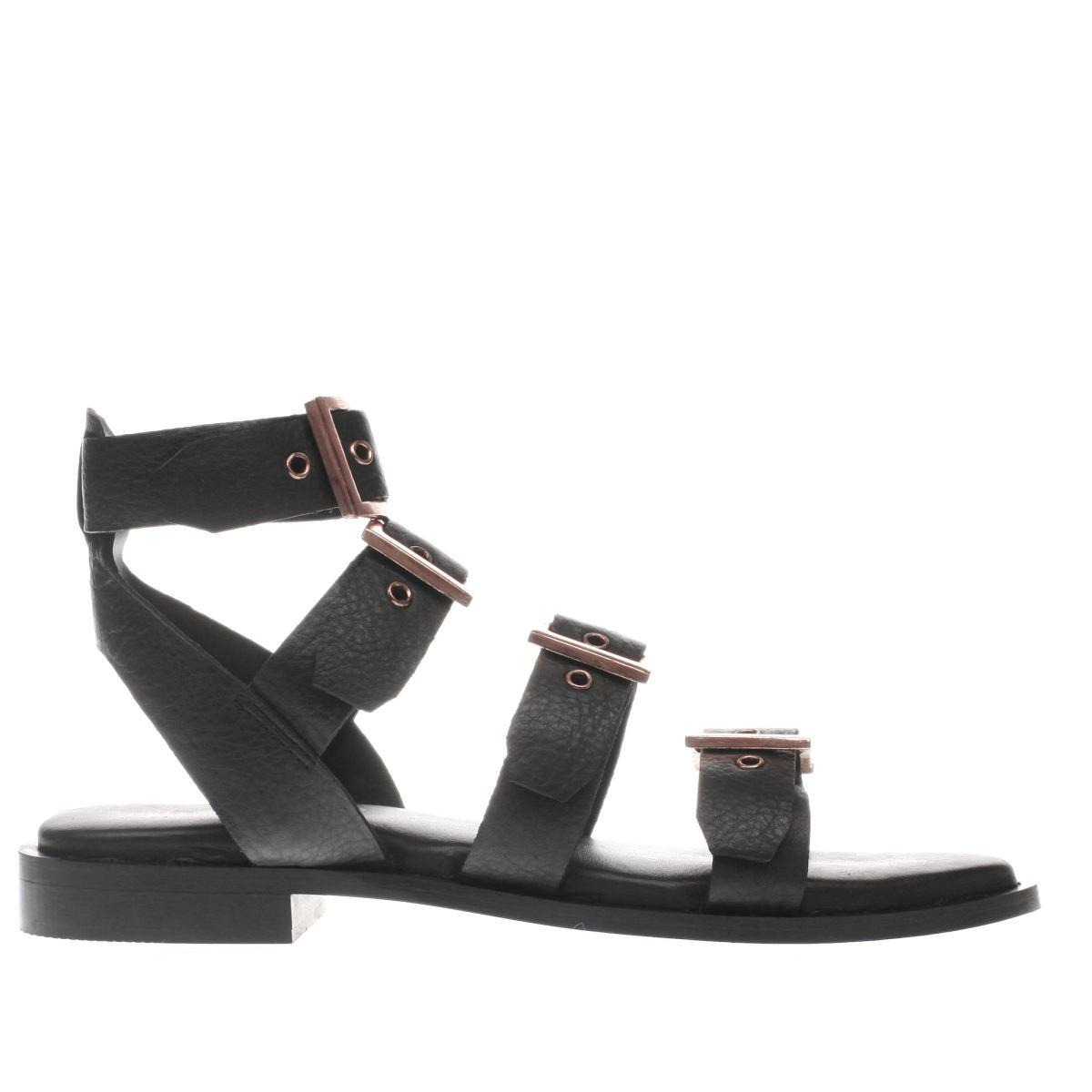 schuh black vegas sandals
