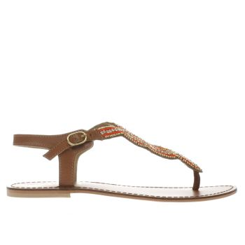 Schuh Tan Radiance Womens Sandals