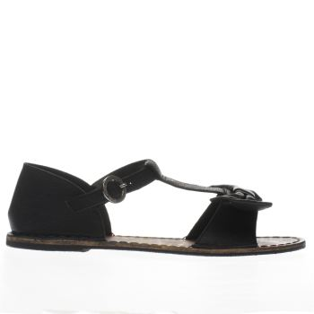 Red Or Dead Black Mimosa Sandals