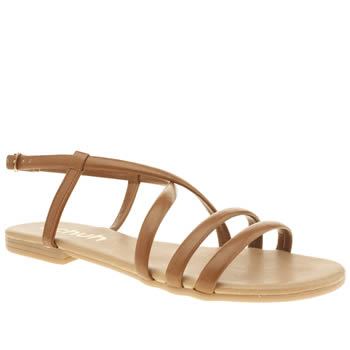 Schuh Tan Essential Sandals