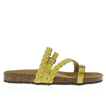 Schuh Yellow Zodiac Womens Sandals