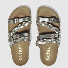 Schuh Gold Zodiac Sandals