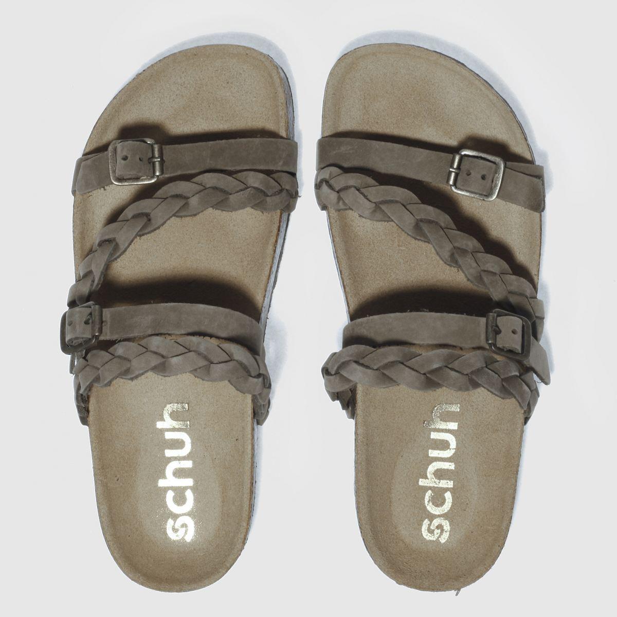 schuh khaki zodiac sandals