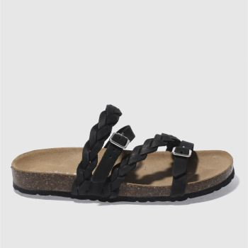 Schuh Black Zodiac Womens Sandals