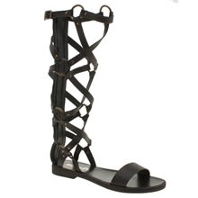 Schuh Black Scorpio Womens Sandals