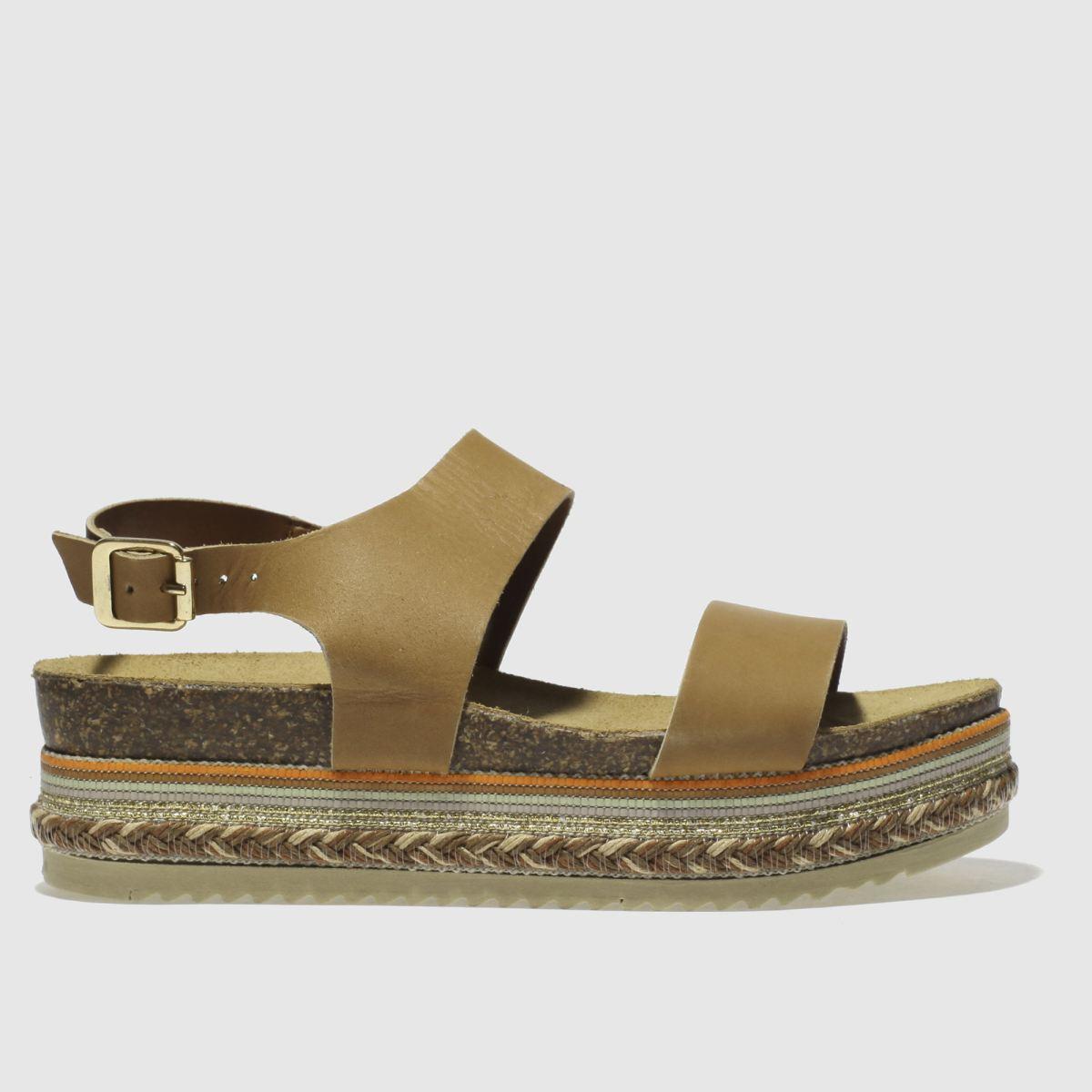 schuh tan miami sandals