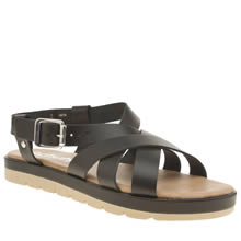 Schuh Black Nilly Sandals