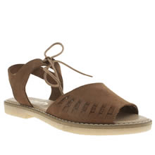 Schuh Tan Free Time Womens Sandals