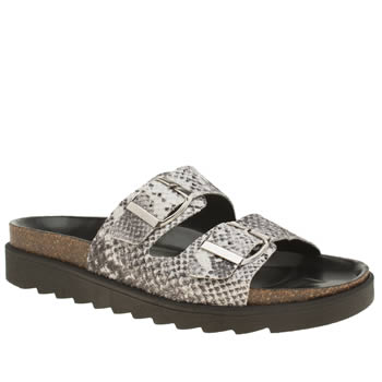 Schuh Black & White Break Free Sandals