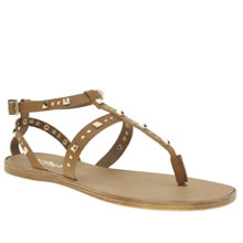 Schuh Tan Prize Womens Sandals