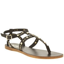 Schuh Black Prize Womens Sandals
