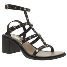 Schuh Black Lingo Womens Sandals
